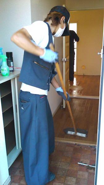 不用品回収とお掃除